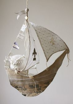 paper mache boats - Google Search