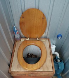 Dry Composting Toilet Box