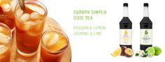 syropy herbaciane #icedta #jasmintea #marakujatea #herbata #syrop Iced Tea, Tree Branches, Art Pieces, Lime, Drinks, Bottle, How To Make, Food, Drinking