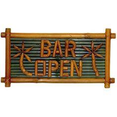Bar Sign @Wishack.com.com