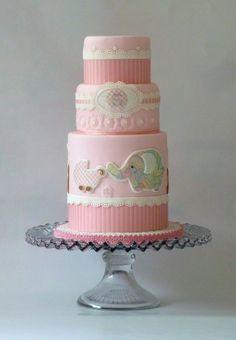 Baby Girl Pink - Decorations fondant, GP, EI.