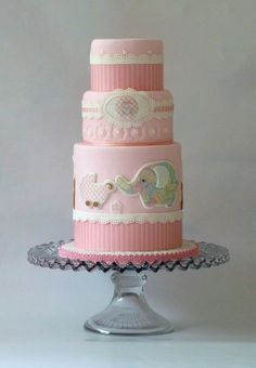 Baby Girl Pink - Decorations fondant, GP, EI.