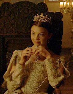 Natalie Dormer as Queen Anne Boleyn   Anne Boleyn - The Tudors