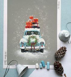 Дети уже хотят вешать гирлянды на окна и регулярно спрашивают про ёлку Так что Новогодняя тема не отпускает А Вы как рано начинаете украшать свой дом? Ждёте конец декабря или создаёте новогоднее настроение уже в ноябре? #пастель #арт #новыйгод2017 #новый_год #рисуюпастелью #pastel #softpastels #softpastel #pastelpainting #pinterest #winter #newyear #snow #canson #cansonpaper