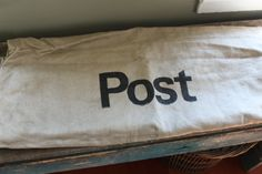 Swiss Military Postal Mail Bag  Canvas Post by SpringHillFarm, $38.00,