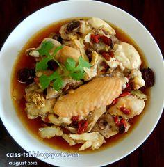 ** 搵到食 **: 简易药材蒸鸡 Easy Steamed Chicken with Herbs