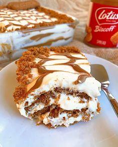 Biscoff Cake, Biscoff Cookie Butter, Biscoff Cookies, Cake Cookies, Biscoff Recipes, Baking Recipes, Cake Recipes, Eid Dessert Recipes, Baking Ideas
