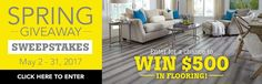 Want to enter for a chance to win $500 to Lumber Liquidators?