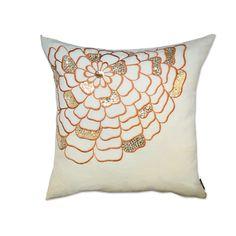 Potpourri Sequin Cotton Throw Pillow