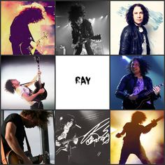 Does anyone else feel like Ray is under appreciated bc he is so talented and fuhkin awesome not to mention how precious he is like jeez Emo Bands, Music Bands, My Chemical Romance, Ray Toro, Mikey Way, Black Parade, Music Theater, Frank Iero, Gerard Way