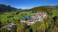 Grand Tirolia Hotel Kitzbühel, Curio Collection by Hilton Wellness Resort, Hotel Wellness, Luxury Spa Hotels, Hotel Spa, Leading Hotels, Hotel Lobby, Spa Treatments, Grand Hotel, Austria