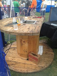 Demonstration Kitchen Outdoor outdoor kitchen made from pallets. a great way to recycle pallet