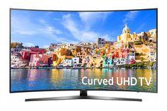 Samsung UN55KU7500 Curved 55-Inch 4K Ultra HD Smart LED TV