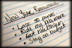 Boozy New Year's Resolutions...