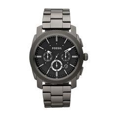 Sehr sportlicher Herren-Chronograph im Military-Look. Gut geeignet für Herren, die große, markante Uhren am Handgelenk lieben. So lassen Sie Ihre Fossil-Uhr FS4662 gravieren. mehrzeilig mit Logo im Bogen seitlich Bestellen Sie jetzt die Fossil FS4662 mit persönlicher Gravur.