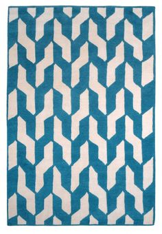 Cable Blue by The Rug Company