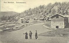 Hovind in Telemark, Norway Early 1900th century