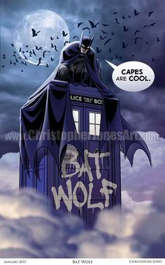 #Batman has taken over! Free #DoctorWho Newsletter - http://bit.ly/TheWhoMail