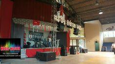 Renta de Audio profesional para todo tipo de eventos.  Tel. 503 22869056 www.musicmaster.com.sv