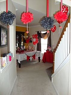 Great ideas for A's ladybug festival bday party. Might have to change it up with blue. <3