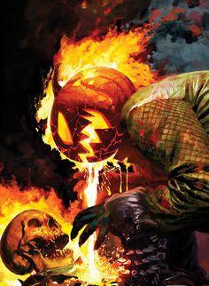 Ghost Rider Vs Halloween by Arthur Suydam #happyhalloween