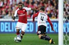 Alexandre Lacazette made his first start for the Gunners since his club record £53million transfer from Lyon