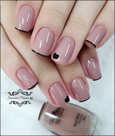 Stylish Nails, Trendy Nails, Casual Nails, Classy Nails, Diy Nails, Cute Nails, Gel Manicure, Pedicure, Cute Simple Nails