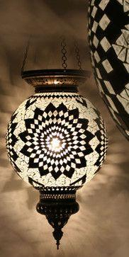 Turkish Style Mosaic Pendant Lamp