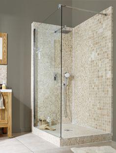 Leroy merlin env 250 euros meuble de salle de bains for Douche italienne leroy