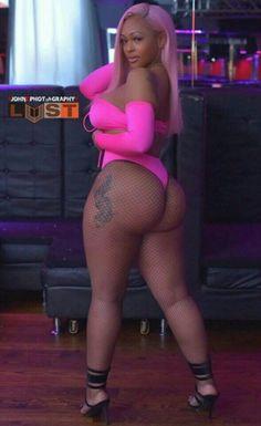 Black busty girl