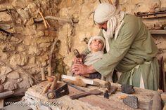 The carpenter's shop in Nazareth at Nazareth Village.