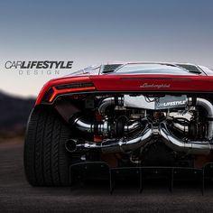 TwinTurbo Huracan • Design by @gabe_carlifestyle #CarLifestyle