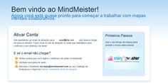 MindMeister - Processo de Inscrição Processo de Inscrição - Passo 3