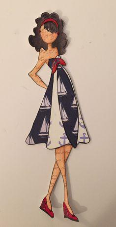 Julie Nutting Prima Doll Kate - Nautical