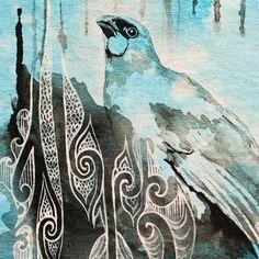 Image result for maori art Maori Art, Birds, Artwork, Painting, Animals, Image, Homework, Design, Google Search