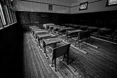 Marconi School.  Abandoned one room school house in Manitoba.  Now a heritage site.