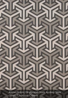 Arrows from Audrey Sterk in Charcoal Cream
