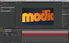 After Effects Tutorial - Extruding Vector Logos in Element 3D