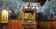 Παναγία Ιεροσολυμίτισσα Orthodox Prayers, Byzantine Icons, Day Wishes, Holy Land, Bible Art, Spiritual Awakening, Vintage Dolls, Holiday Parties, Christianity