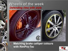 Matching Brake Callipers with rimpro-tec looks amazing .