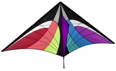 Prism Stowaway Delta Kite (Spectrum) by Prism. $34.95. Enjoy the high-tech look of a sport kite without the complication and learning curve. The new Stowaway Delta puts a classic, high flying single-liner in a package that'll fit in a briefcase to take anywhere. The tough fiberglass frame makes flying a breeze in a wide wind range, and the high flying angle allows maximum altitude. Bungees in the spars make assembly a snap - just let the rods spring into their connectors like a...