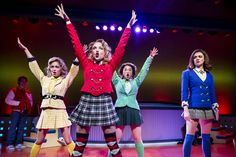 'Heathers' Star Barrett Wilbert Weed Talks About Kissing Disney Heartthrobs and Wearing Short Skirts Onstage