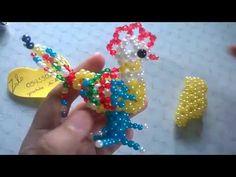kết hạt cườm 12 con giáp tuổi gà gà trống #2 - YouTube