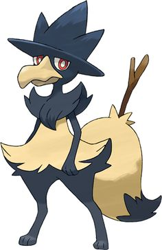 WTF?! Epic Fusion of Braixen and Murkrow!
