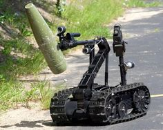 Robots Saving Lives By Detecting And Disposing Bombs - As Hidden Bombs Or Mines Cant Be Seen Through Bare Eyes They Are Very Dangerous It Can Kill Or Injure People Especially The Soldiers In The Battle Ground Though Implementing Gremlinx Military Robot, Military Weapons, Millenium, Battle Ground, High Tech Gadgets, Futuristic Technology, Robot Technology, Robot Design, War Machine