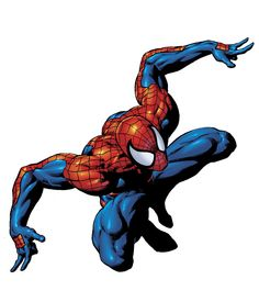 Spider-Man. Colors by Rain.
