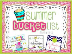 Fern Smiths Classroom Ideas ~ My Summer Bucket List