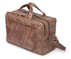 eco friendly leftover leather bag