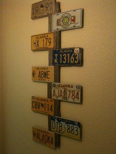 Crafts Using License Plates