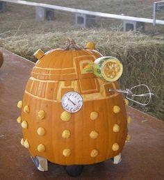 doctor who pumpkins   Dalek Doctor Who Pumpkin